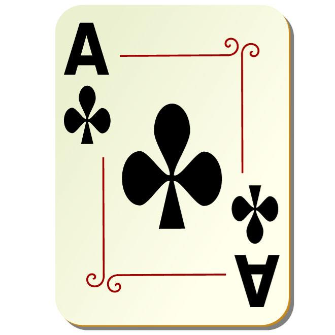 Ace Card Vector