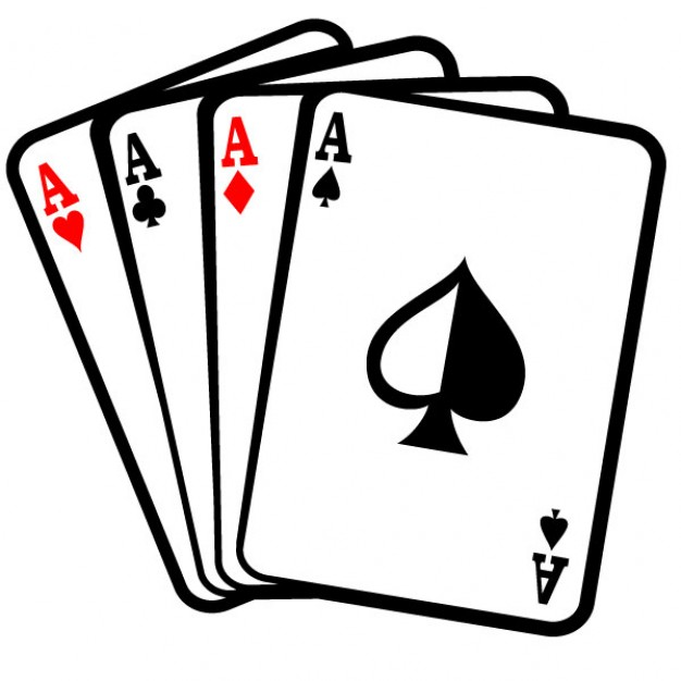 626x626 Four Aces Poker Cards Clip Art Vector Free Download