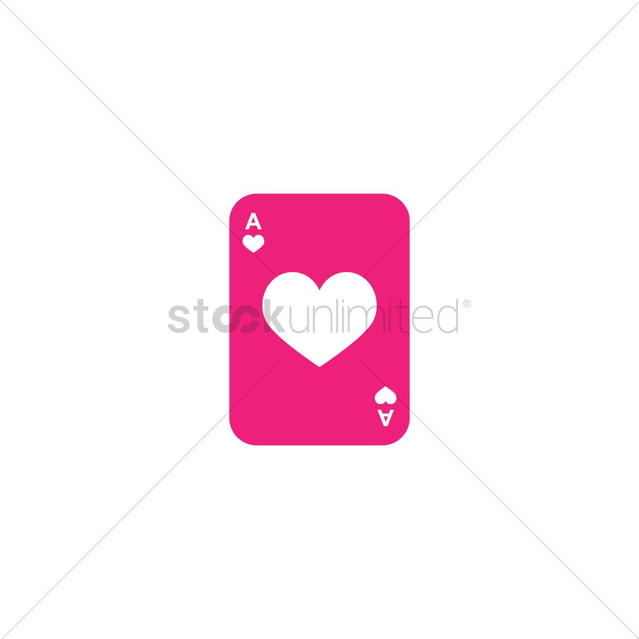 1300x1300 Ace Card Vector Image