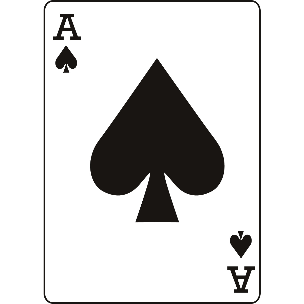 1200x1200 Ace Card Clip Art