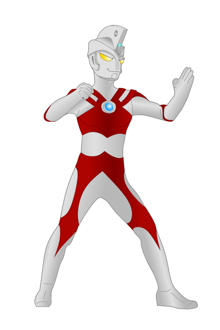 730x1095 Ultraman Ace Vector By Thecrazebling