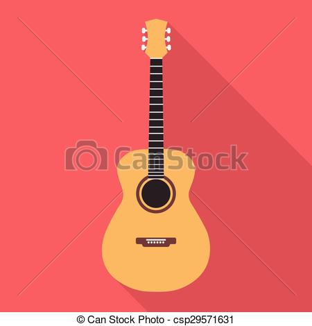 Acoustic Guitar Vector At Getdrawings Com Free For Personal Use