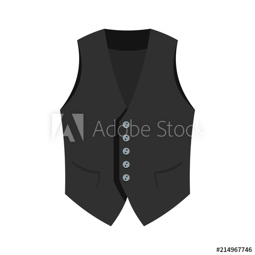 500x500 Actor Vest Icon. Flat Illustration Of Actor Vest Vector Icon For