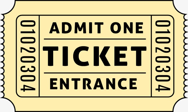 650x389 Paper Tickets Movie Tickets Vector Material, Paper Vector, Movie
