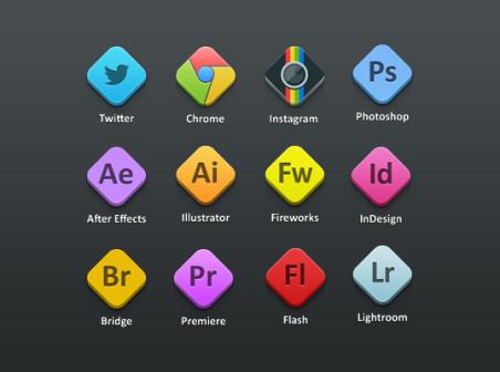 452x336 Adobe Icons