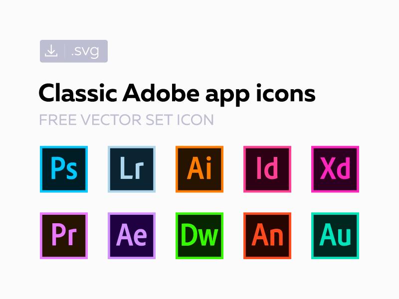 800x600 Free Classic Adobe Ss Icons By Alexander Litvinenko