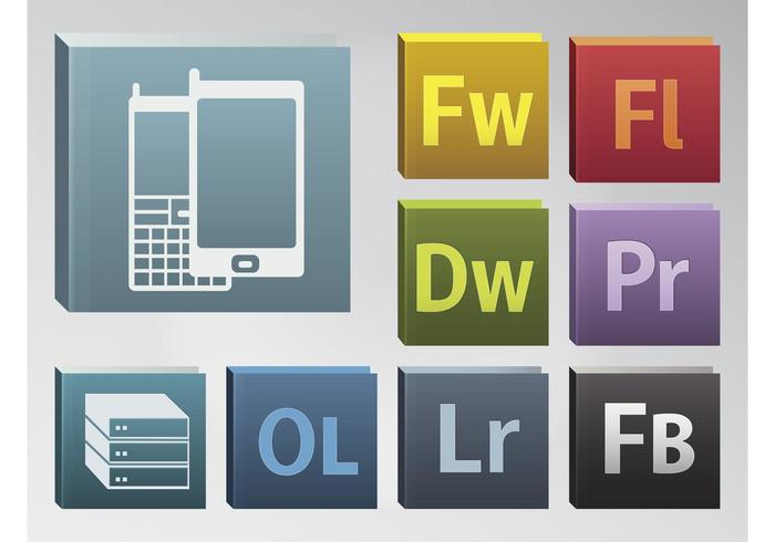 700x490 Adobe Icons