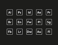 202x158 Adobe Icons