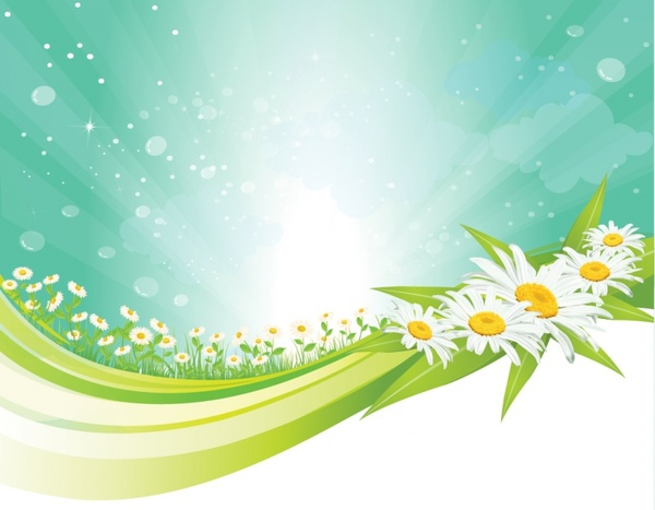 600x467 Spring Background Free Vector In Adobe Illustrator Ai ( .ai