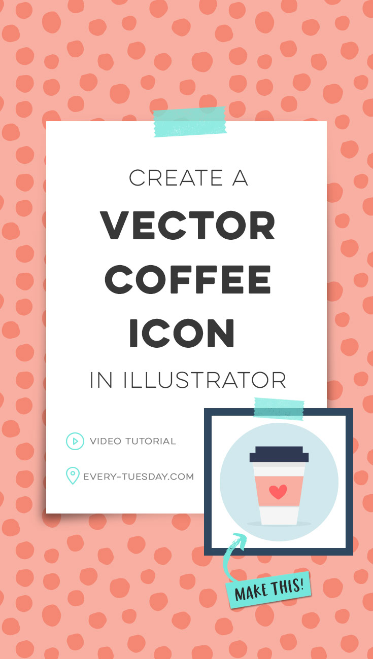 735x1300 Create A Vector Coffee Icon In Adobe Illustrator