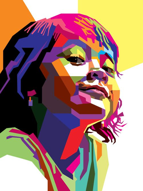 500x667 How To Create A Geometric, Wpap Vector Portrait In Adobe