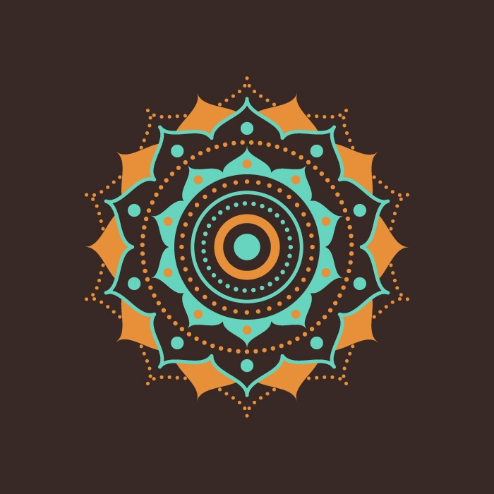 700x700 Illustration Design A Vector Mandala Free Adobe Illustrator