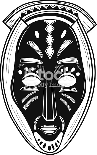 328x524 Download African Tribal Masks Vector Clipart Traditional African