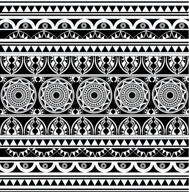 787x800 Ancient African Pattern Background Stock Vector Colourbox