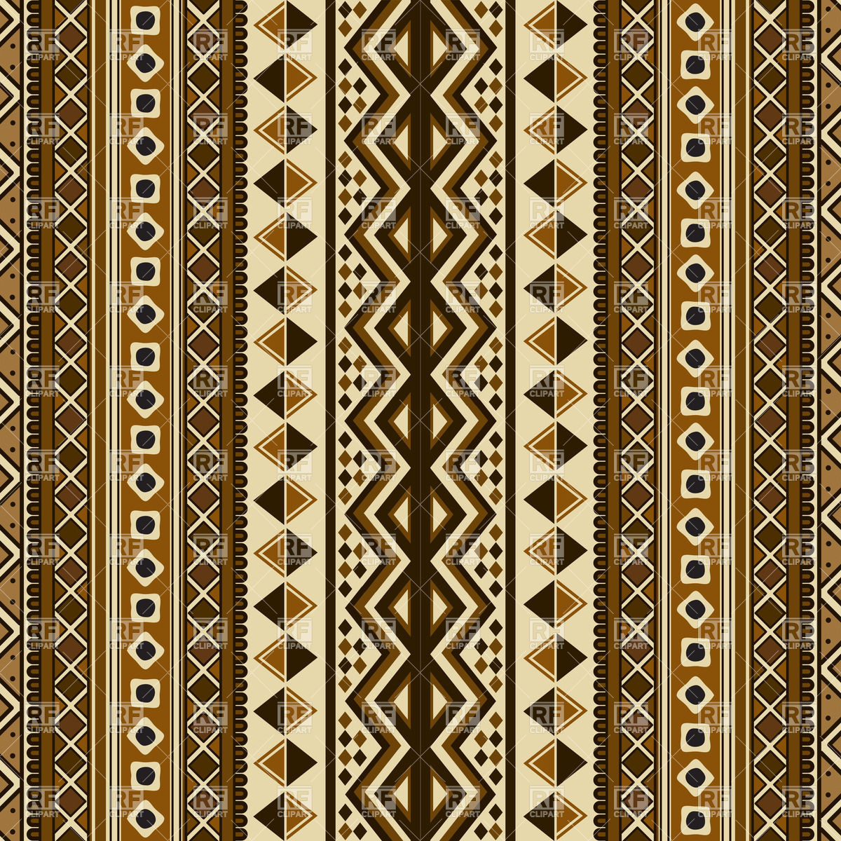 1200x1200 Ethnic Pattern Design Vector Image Vector Artwork Of Backgrounds