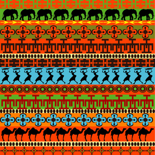 500x500 Free Download Of African Pattern Vector Graphics And Illustrations