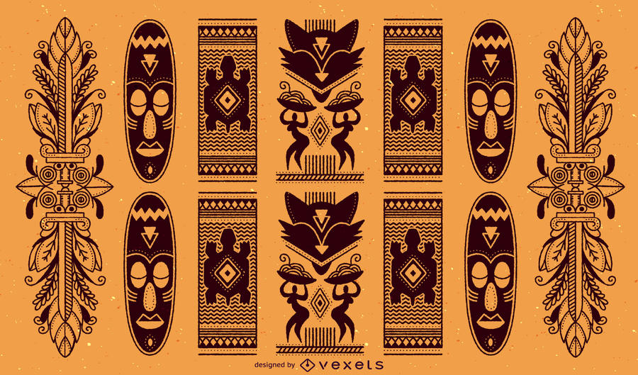 900x529 Traditional African Pattern