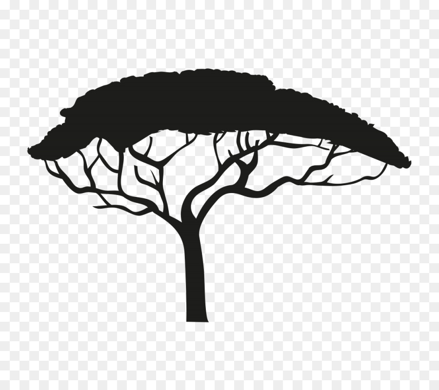 900x800 Africa Silhouette Tree Drawing