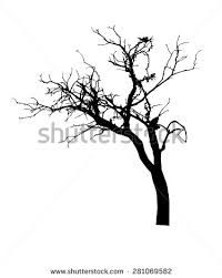 200x251 Bare African Tree Vector