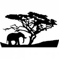 225x225 Dead African Tree Vector