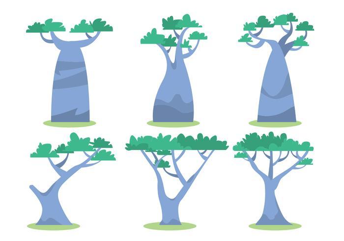 700x490 African Tree Vector