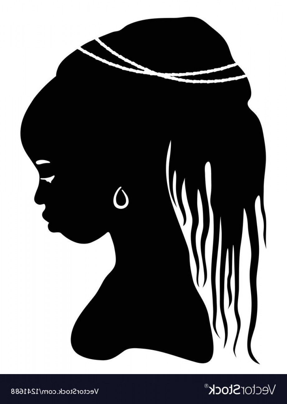 921x1296 African Woman Silhouette Vector Geekchicpro