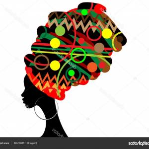 300x300 Stock Illustration Portrait Beautiful African Woman In Arenawp