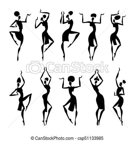 450x470 African Beautiful Women. African American Dancers. Dancing Woman