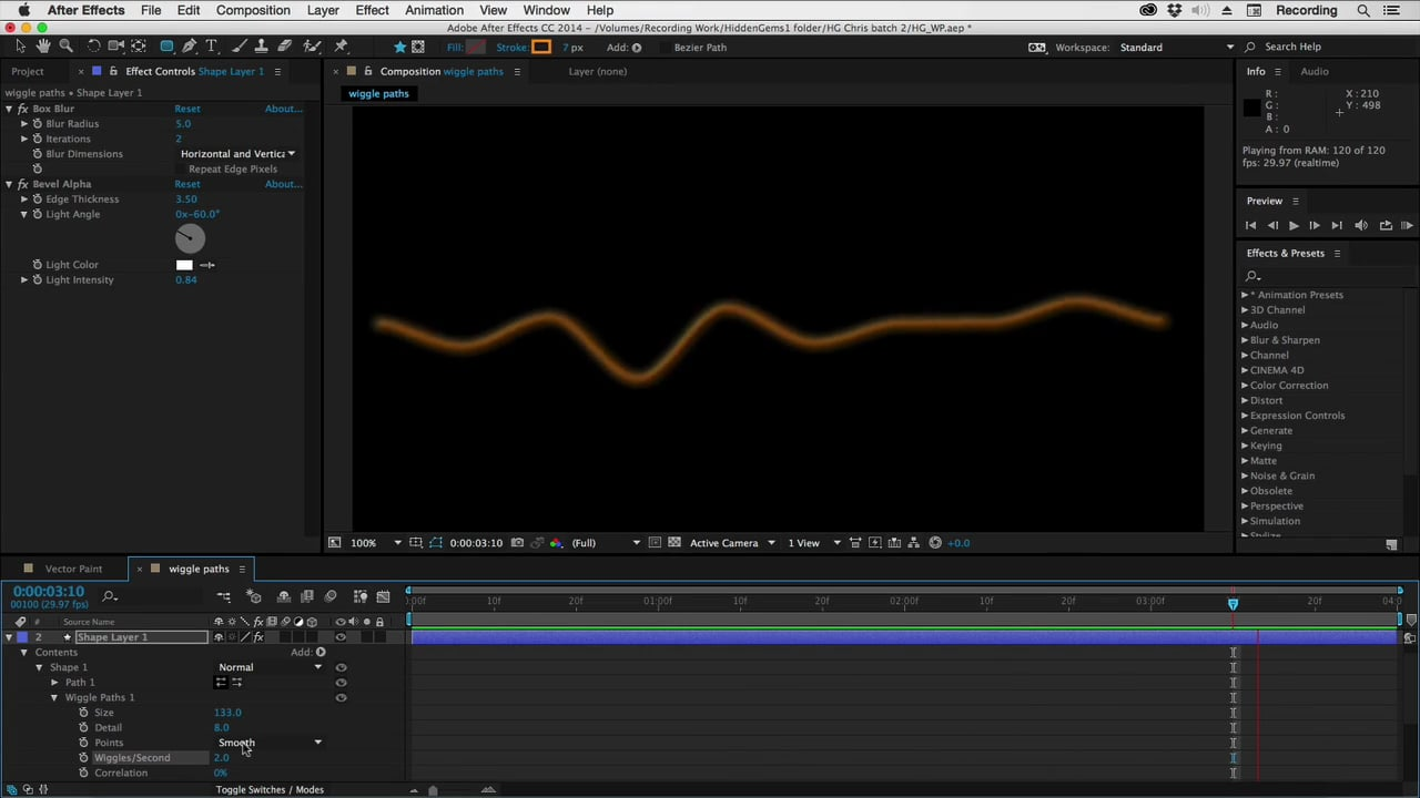 1280x720 After Effects Hidden Gems Weekly Wiggle Paths By Chris And Trish