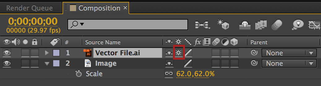 1038x280 After Effects Quick Tip Depixelating Vector Files