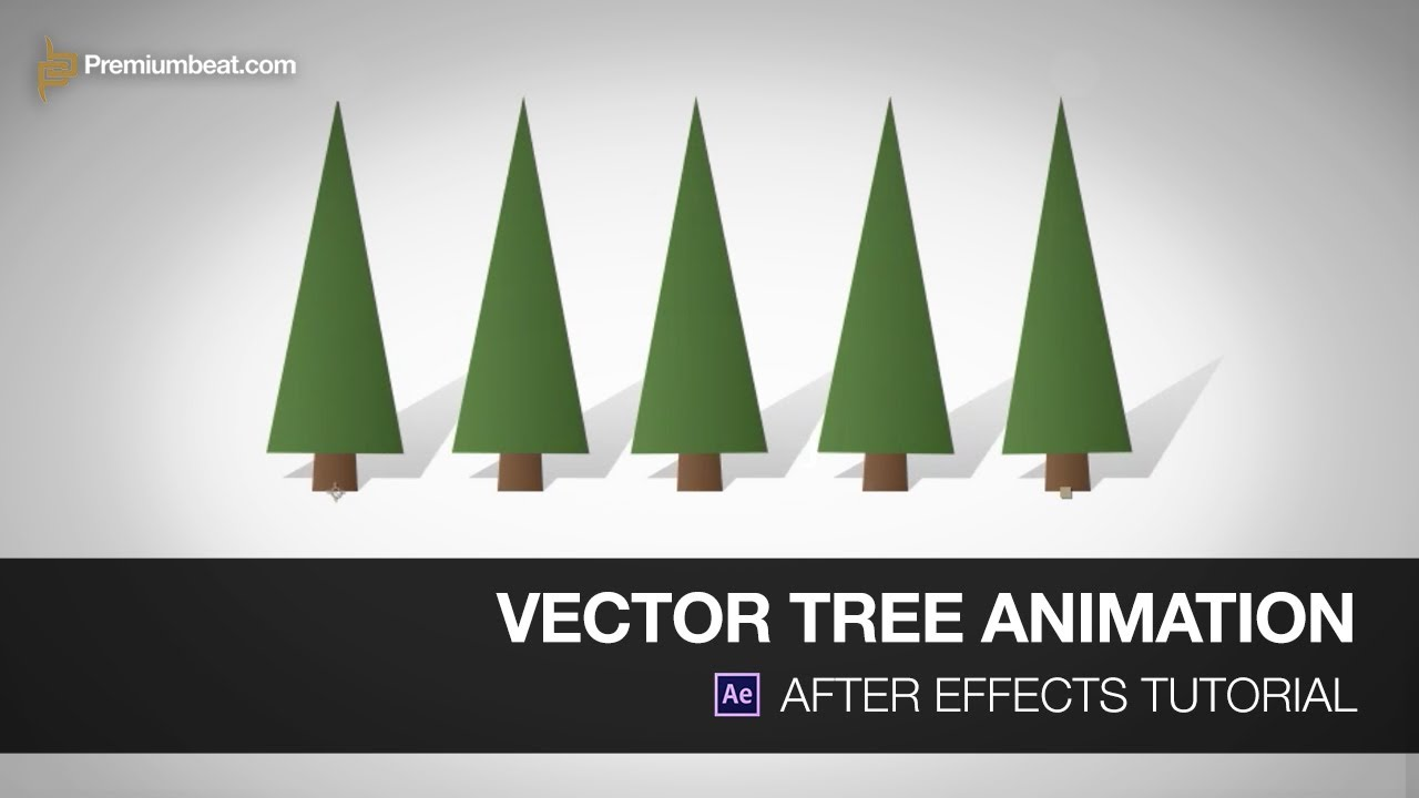 1280x720 After Effects Tutorial Vector Trees