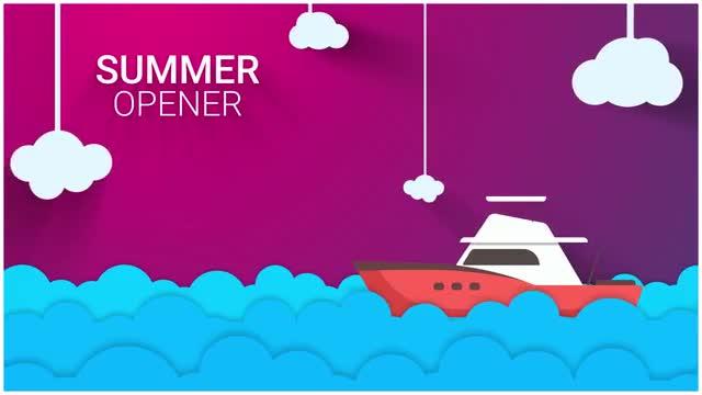640x360 New Summer Vector Intro