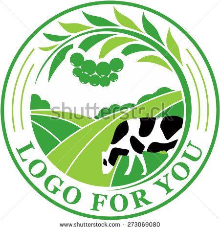 450x470 Agriculture Logo. Vector. Logo