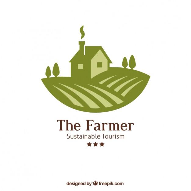 626x626 The Farmer Logo Vector Free Download