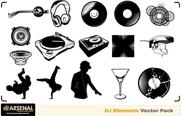 578x372 Free Dj Amp Graffiti Vector Artwork Free Vector In Adobe Illustrator