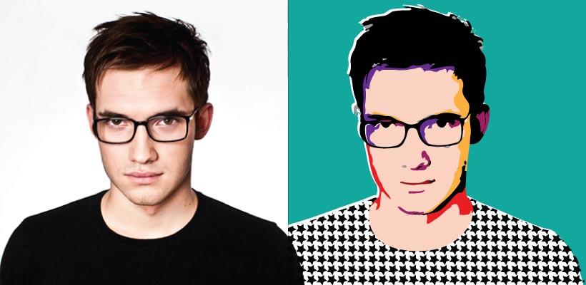 820x400 Illustrator Tutorial How To Create A Pop Art Vector Self Portrait