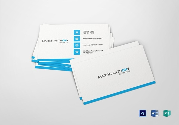 600x420 Business Card Free Psd, Ai, Vector Eps Format Download