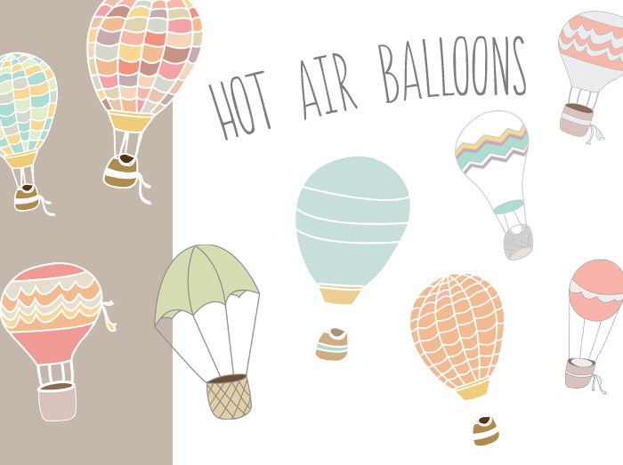 700x523 Hot Air Balloon Vector Amp Clip Art Images