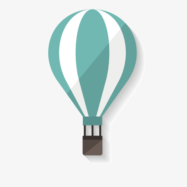 650x651 Blue And White Hot Air Balloon Vector, Blue Vector, Balloon Vector