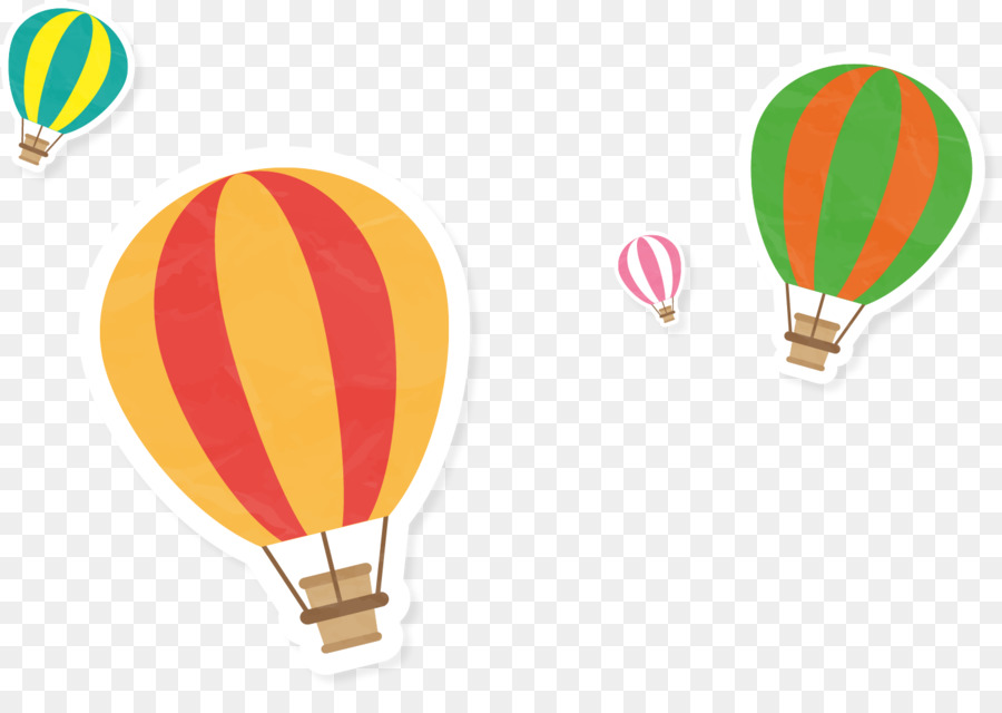 900x640 Hot Air Balloon Euclidean Vector