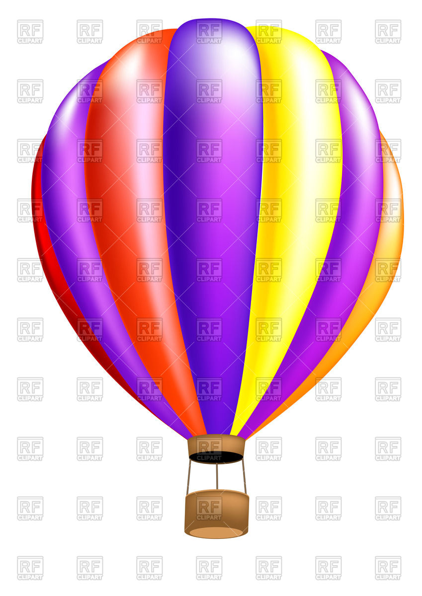 849x1200 Hot Air Balloon Vector Image Vector Artwork Of Objects Arkela