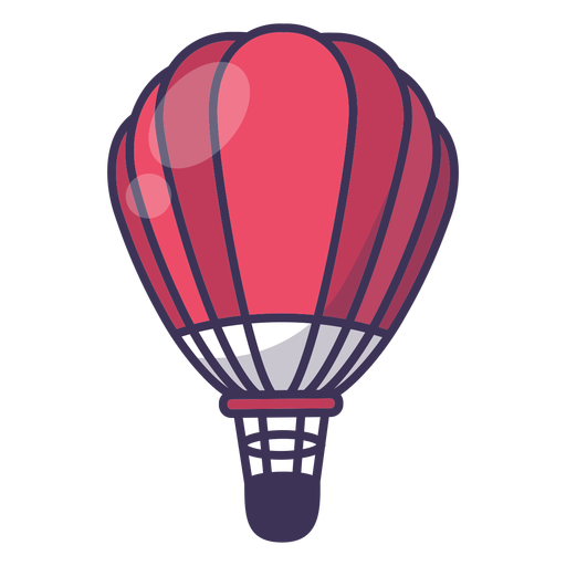 512x512 Hot Air Balloon Vector