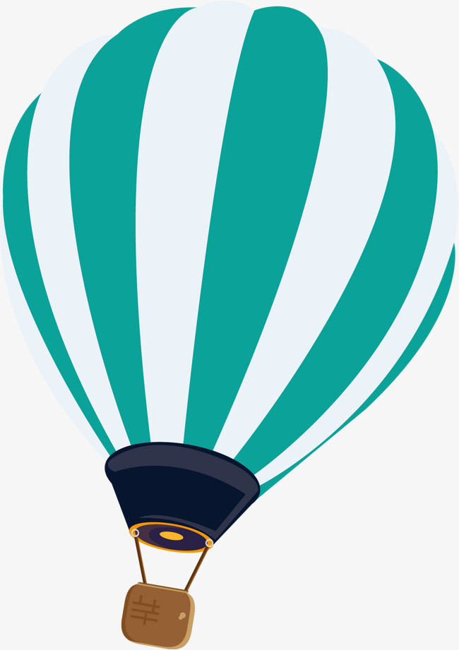 650x921 Striped Hot Air Balloon Vector, Stripe, Hand Painted, Hot Air
