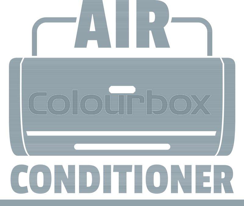 800x676 Air Conditioner Logo. Simple Illustration Of Air Conditioner