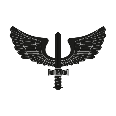 400x400 Brazilian Air Force Black Logo Vector (.eps, 394.37 Kb) Download