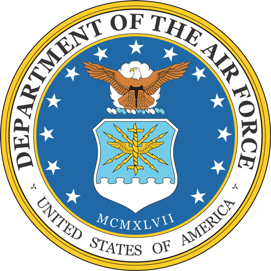 555x555 United States Air Force Logo Vector