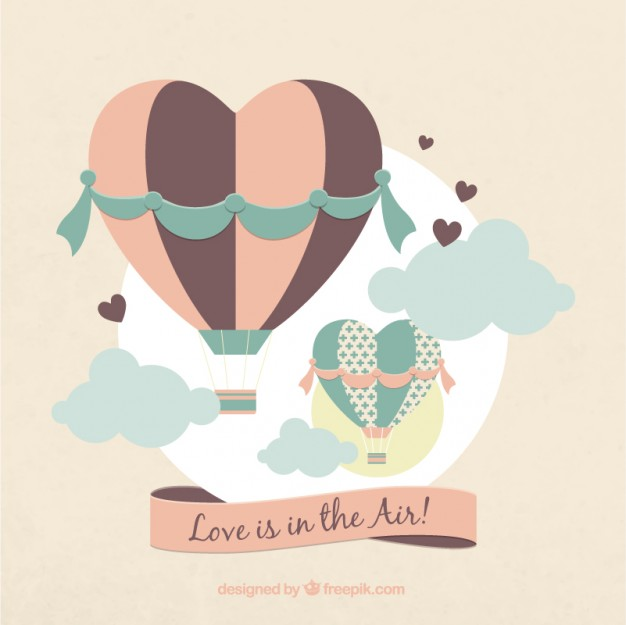 626x625 Love Is In The Air Vector Free Download