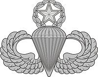200x158 U.s. Parachutist (Paratrooper) Badge Master