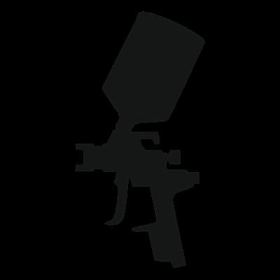 Airbrush Gun Vector