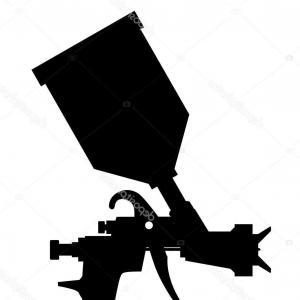 Airbrush Gun Vector at GetDrawings com   Free for personal
